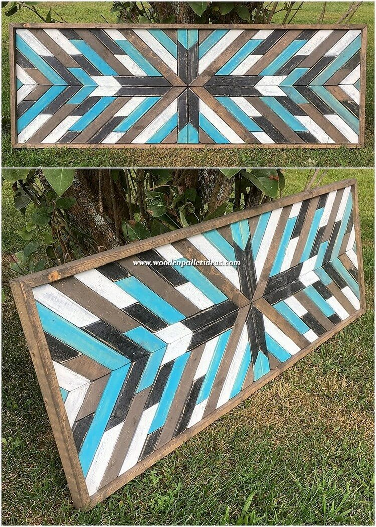 Pallet Decor Creation