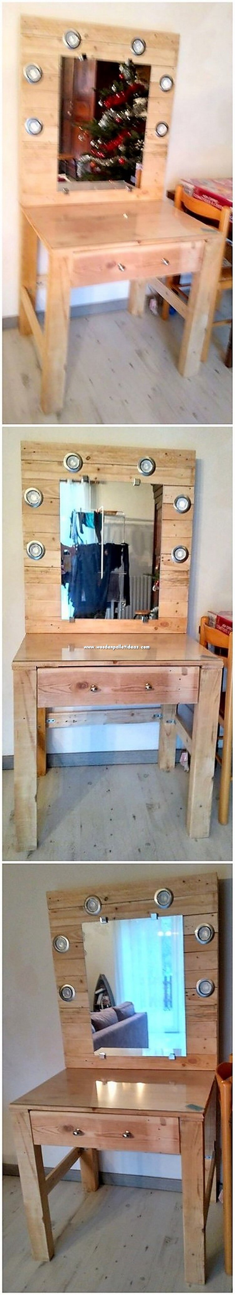 Pallet Dressing Table
