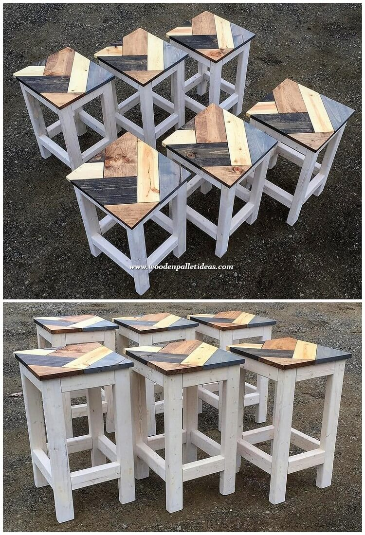 Pallet End Tables