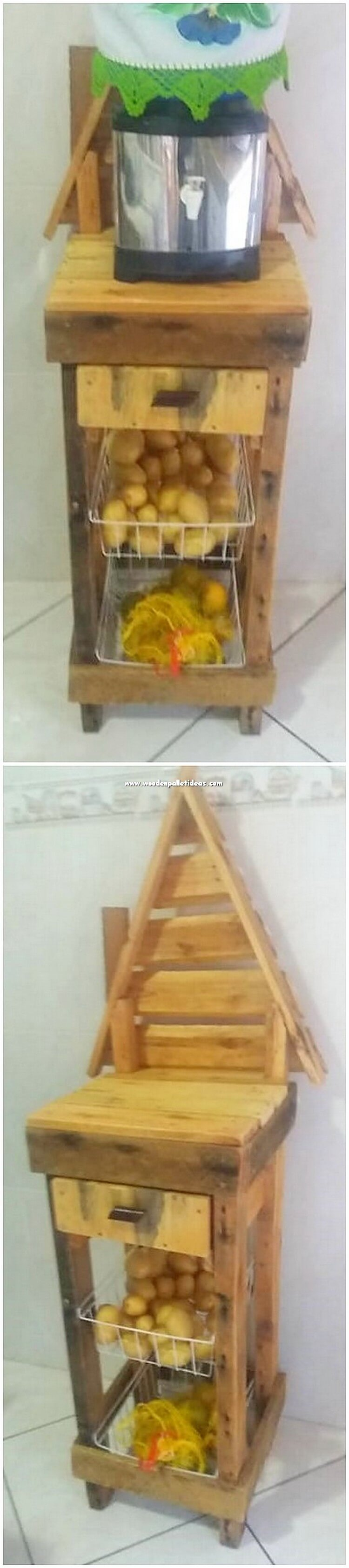 Pallet Fruits and Vegetable Rack