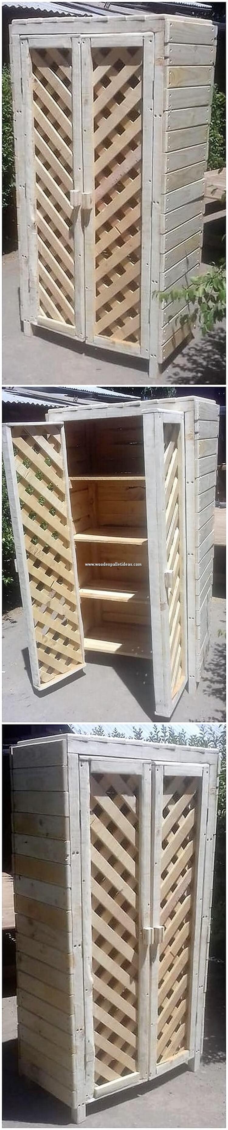Pallet Wardrobe or Cabinet