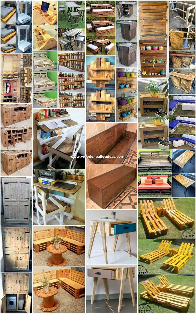Art of Recycling 25 DIY Wood Pallet Reusing Projects