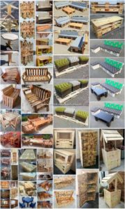 Brilliant Ideas Make with Scraped Wooden Pallets
