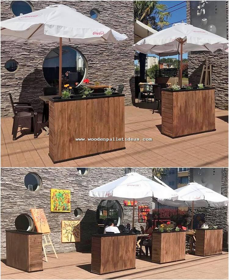Pallet Bar Counters