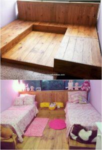 Pallet Bunk Beds