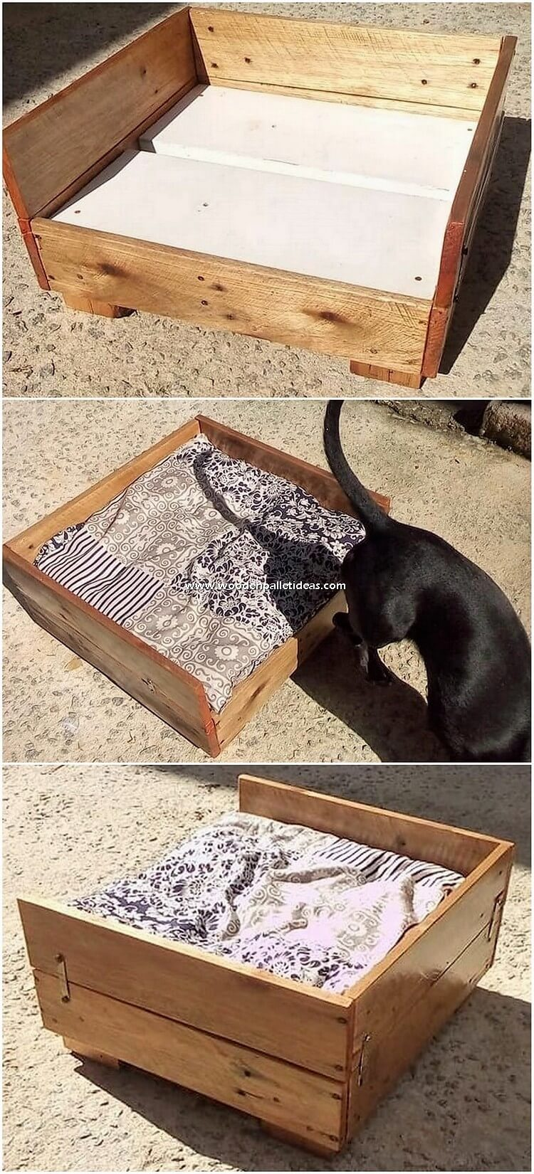 Pallet Dog Bed