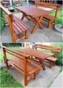 Pallet Garden Furniture Project