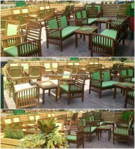 Pallet Outdoor Restaurant Furniture