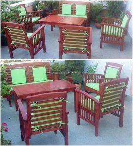 Wood Pallet Garden Furniture