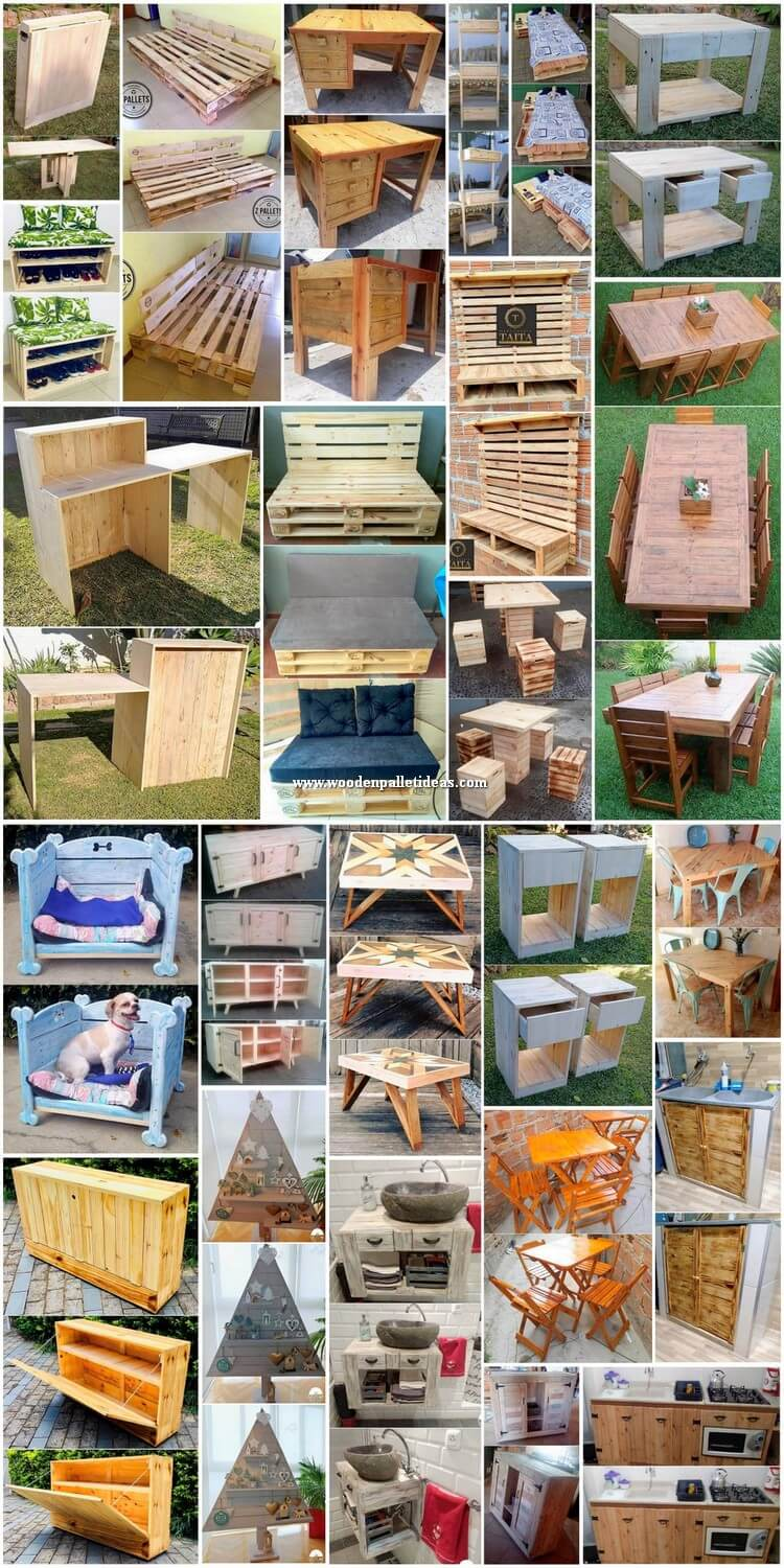 Impressive DIY Wooden Pallet Ideas Projects