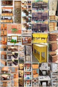 Impressive Ideas Made with Old Wooden Pallets