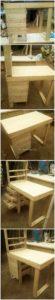 Pallet Desk with Drawer