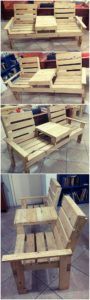 Attached Pallet Chairs