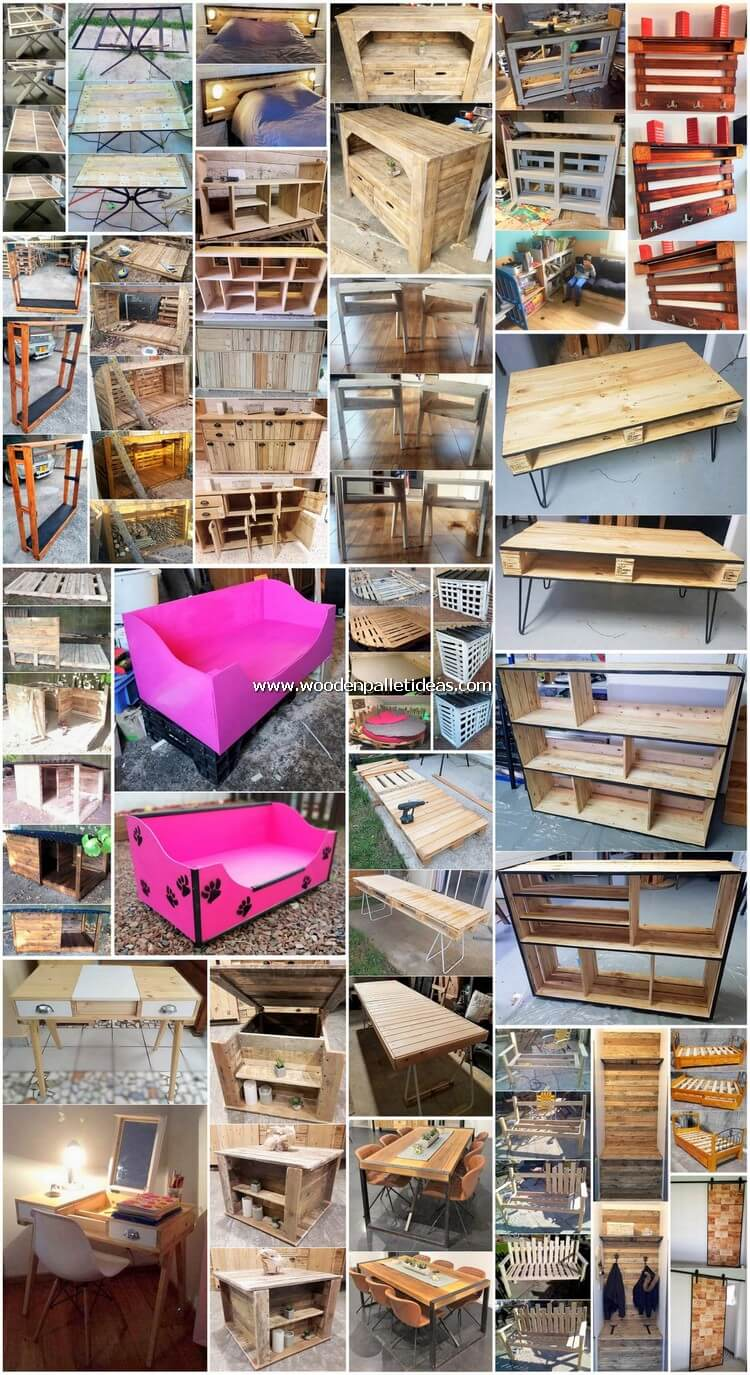 Beautiful Pallet DIY Creations for Your Home Renovation