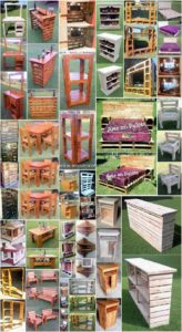 Excellent DIY Creations with Old Wooden Pallets