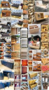 Illustrious DIY Creations with Wooden Pallets