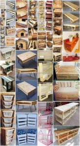 Magnificent DIY Ideas with Recycled Wooden Pallets