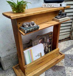 Pallet Bookshelf or Side Table