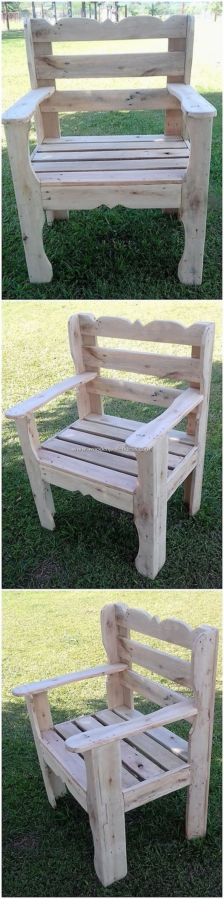 Wondrous Excellent Diy Creations With Old Wooden Pallets Wooden Ibusinesslaw Wood Chair Design Ideas Ibusinesslaworg