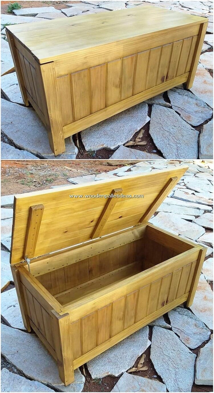 Illustrious Diy Creations With Wooden Pallets Wooden Pallet Ideas