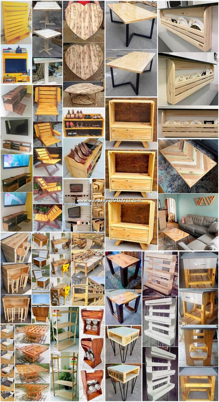 Splendid and Superb DIY Wooden Pallet Projects