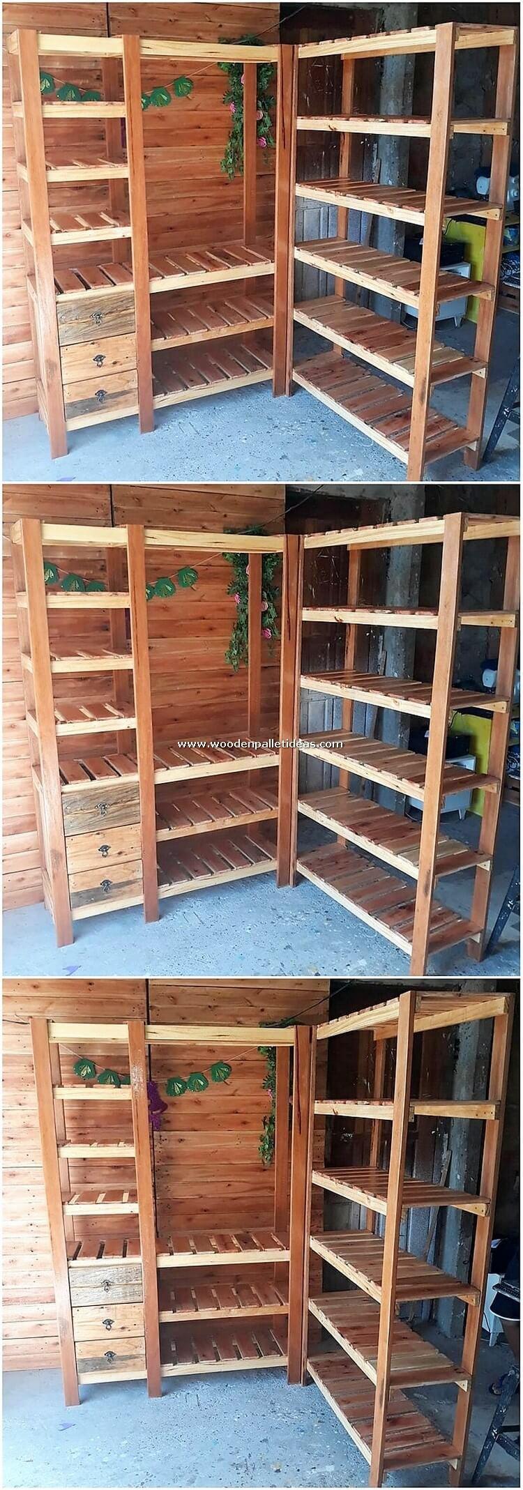 Pallet Closet or Shelving Unit