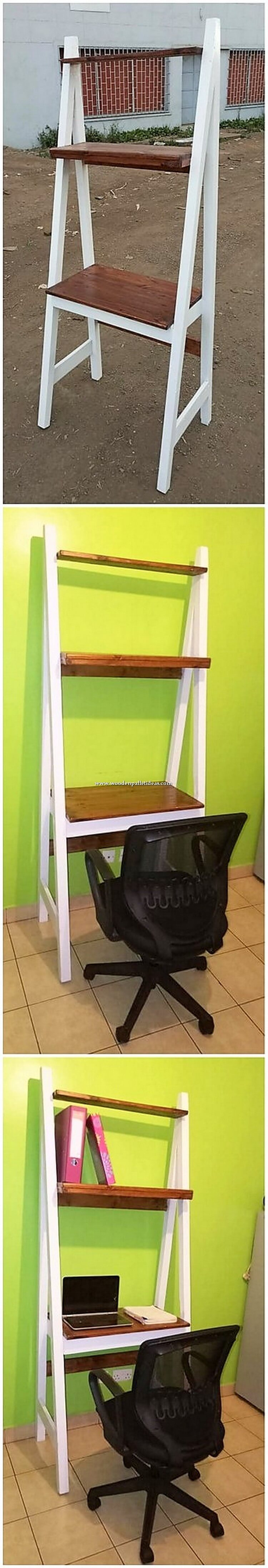 Pallet Shelving Stand or Desk Table