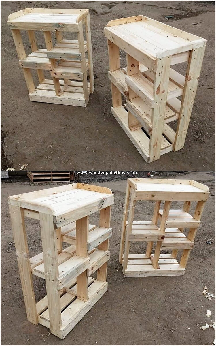 Pallet Shelving Stands