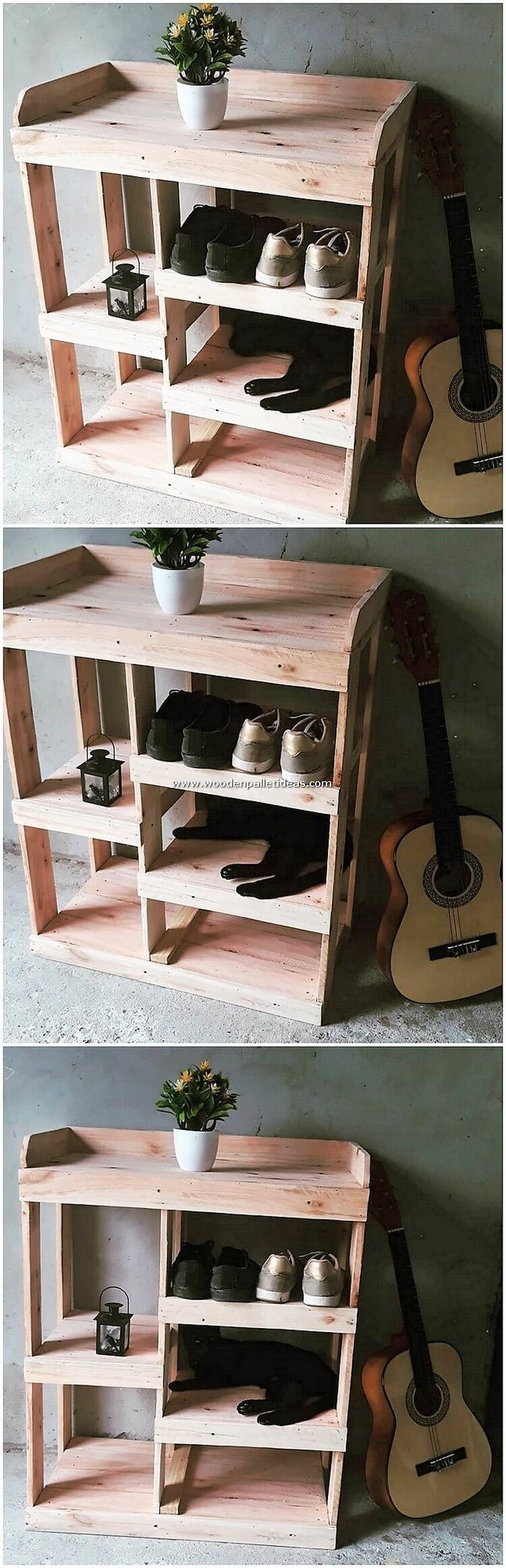 Pallet-Table-with-Shoe-Rack