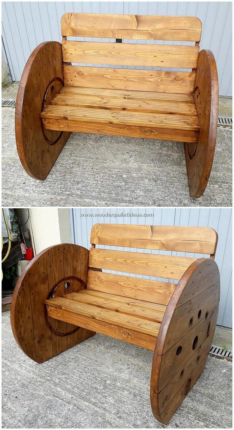 Pallet-Wood-Bench