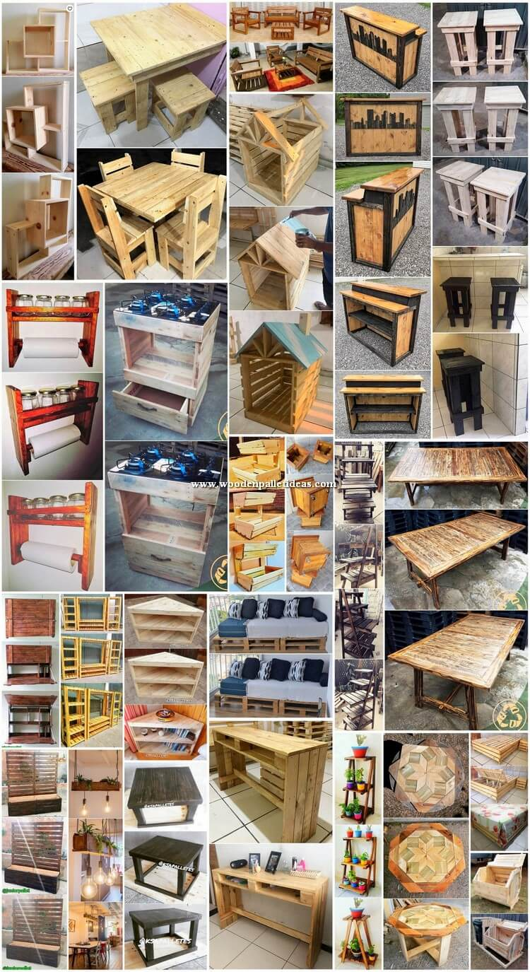 Smart and Beautiful DIY Wood Pallet Ideas