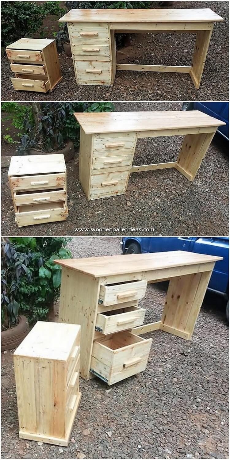 Pallet-Desk-Table-with-Drawers