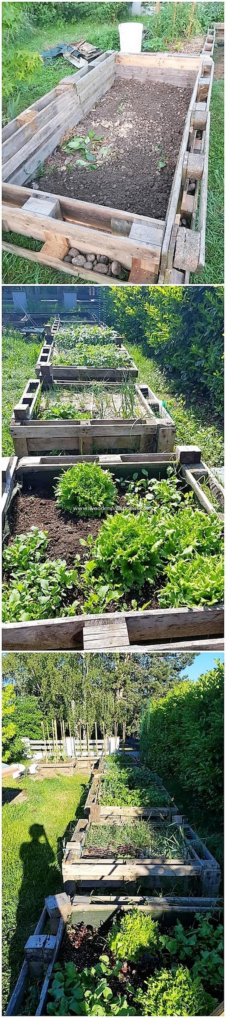 Pallet-Garden-Planters