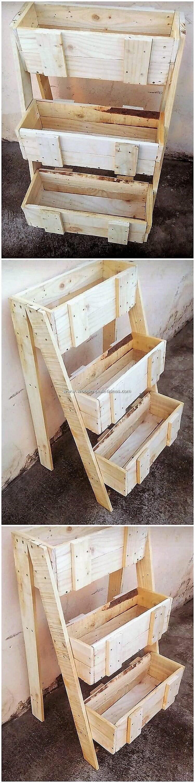 Pallet-Planter-Stand
