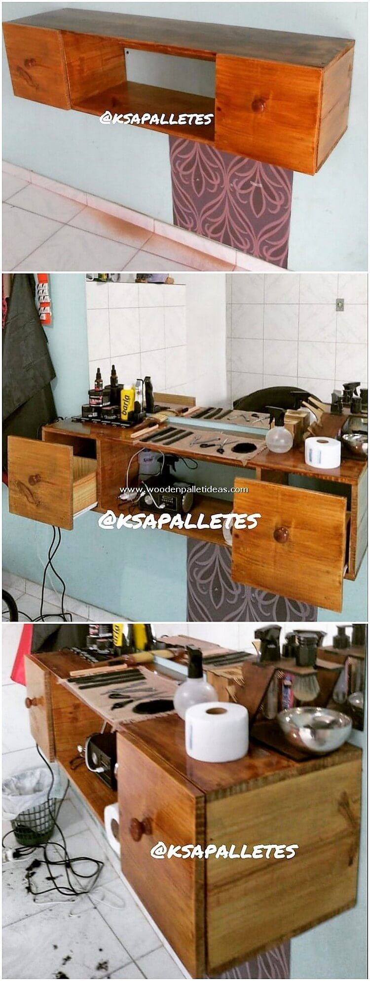 Pallet-Shelf-with-Drawers