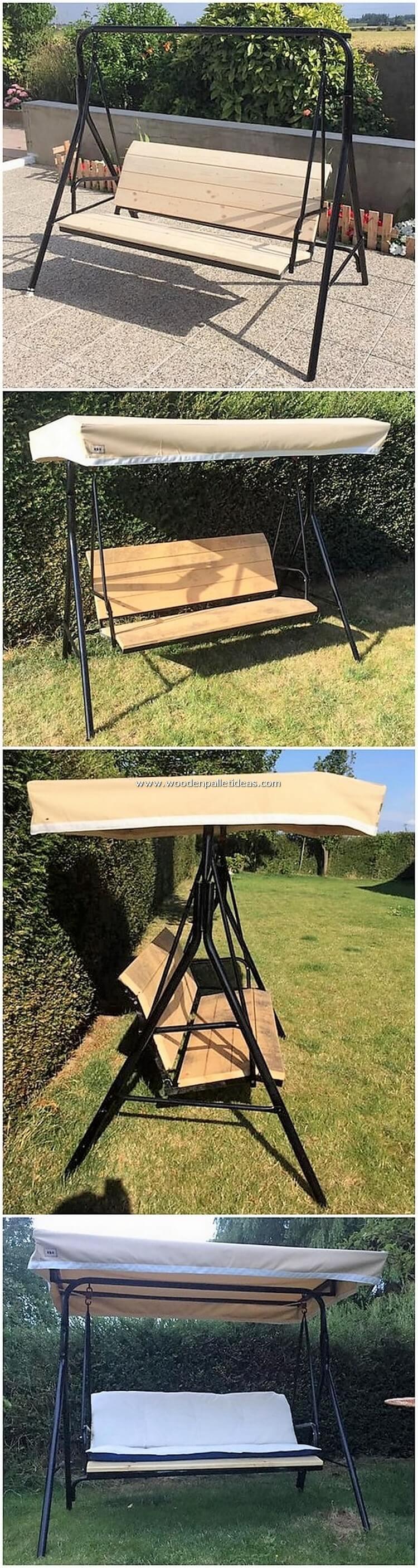 Pallet Swing Bench