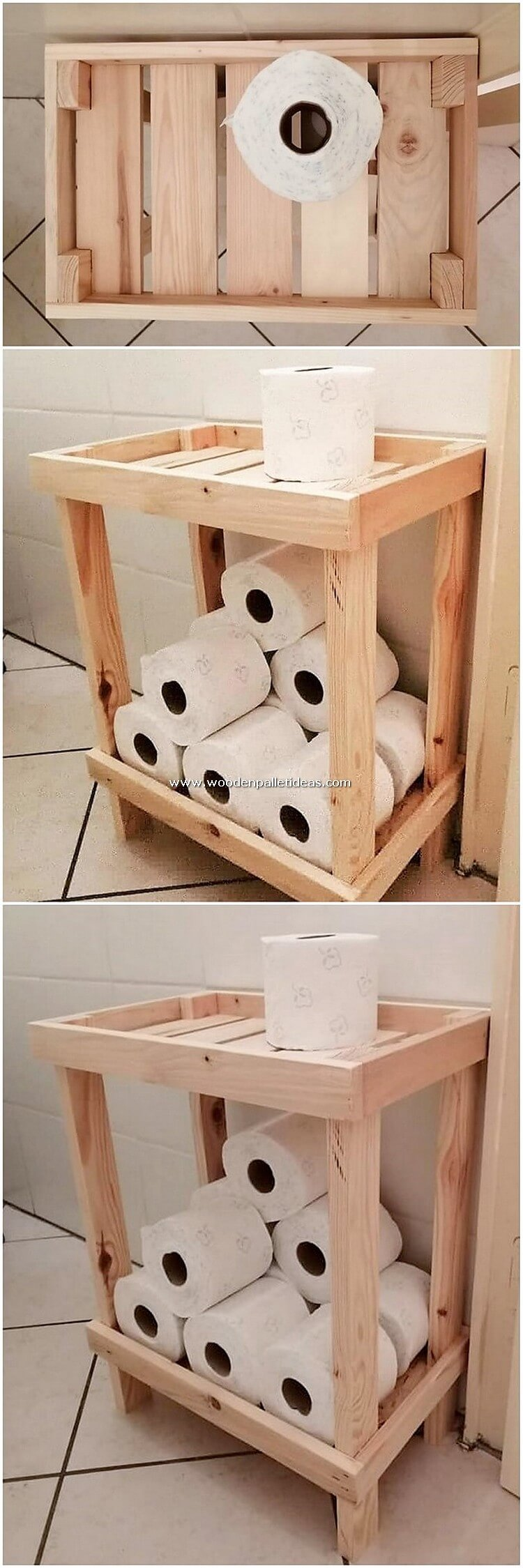 Pallet-Toilet-Paper-Roll-Table