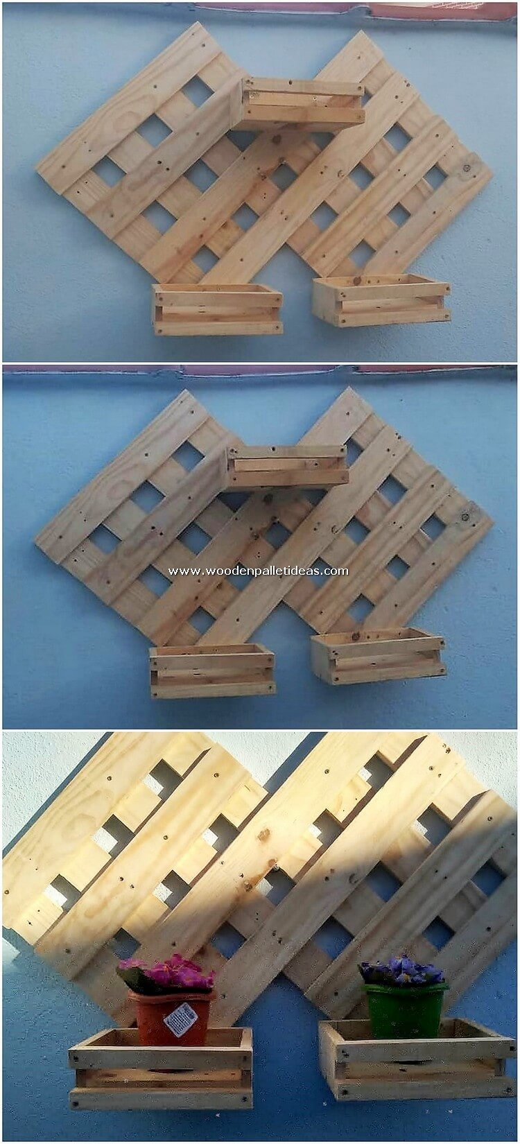 Pallet-Wall-Planter