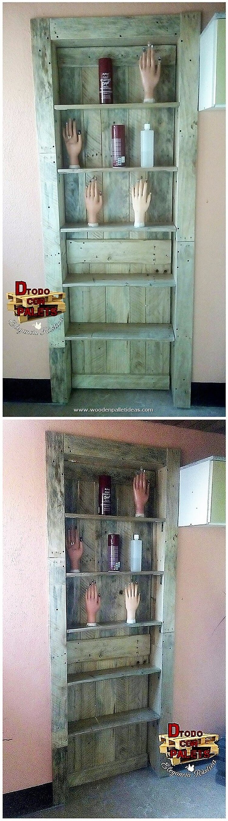 Pallet-Wall-Shelving-Unit