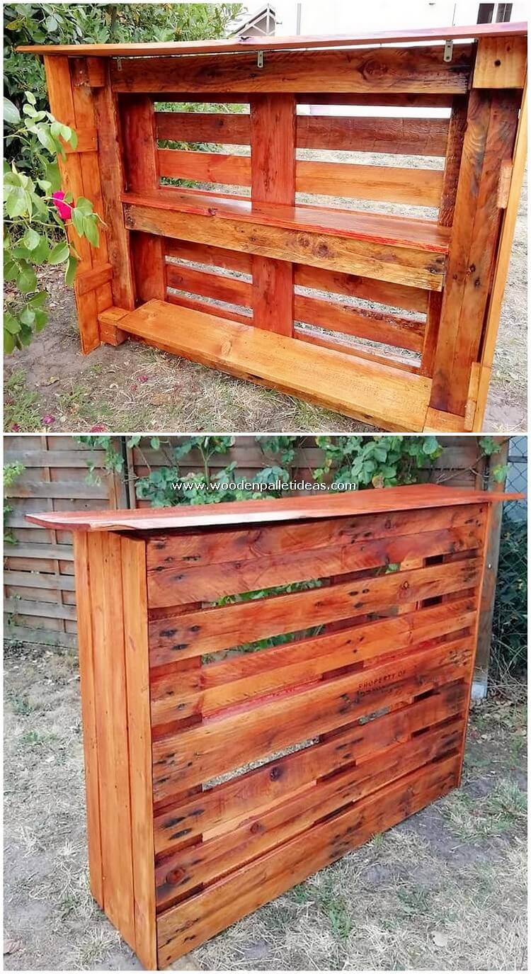 Wood-Pallet-Counter-Table