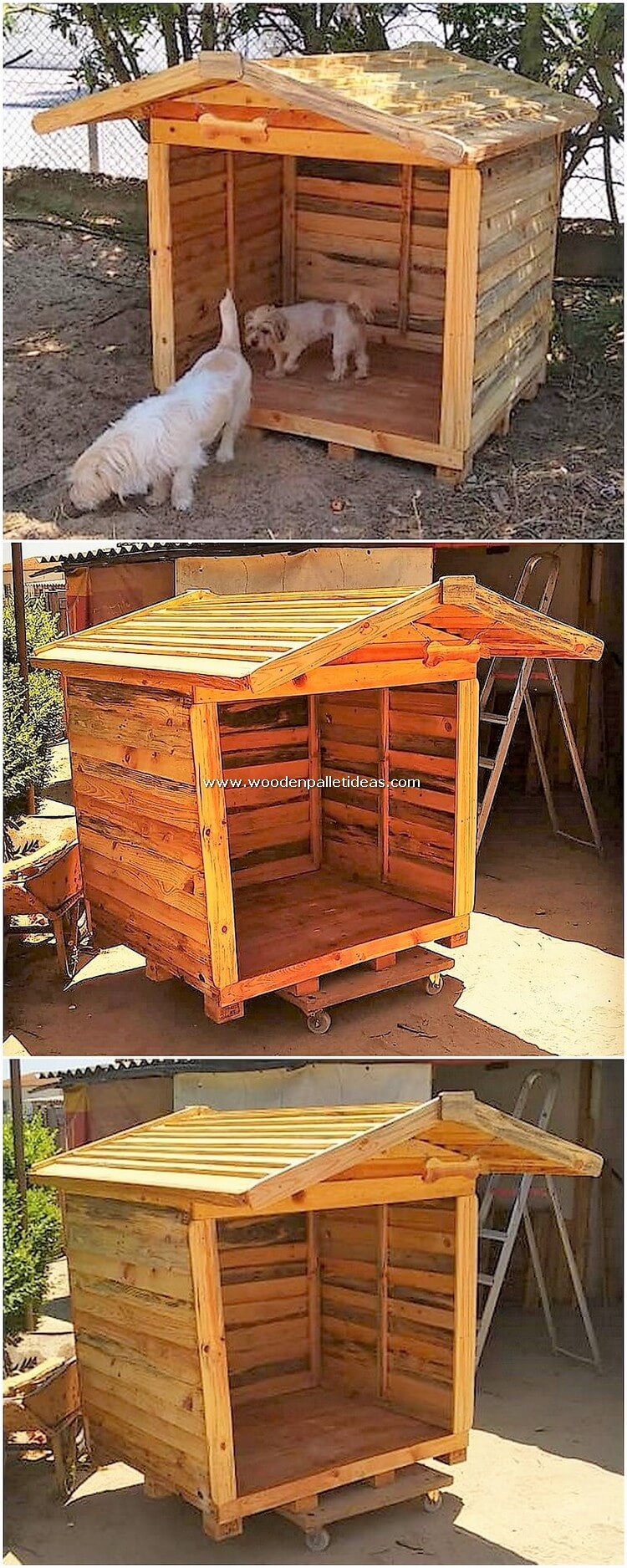 Wooden-Pallet-Pet-House