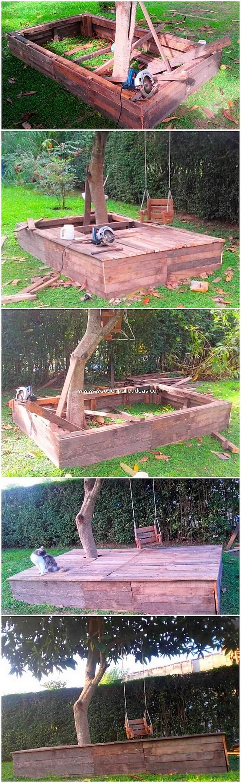 DIY-Pallet-Garden-Terrace