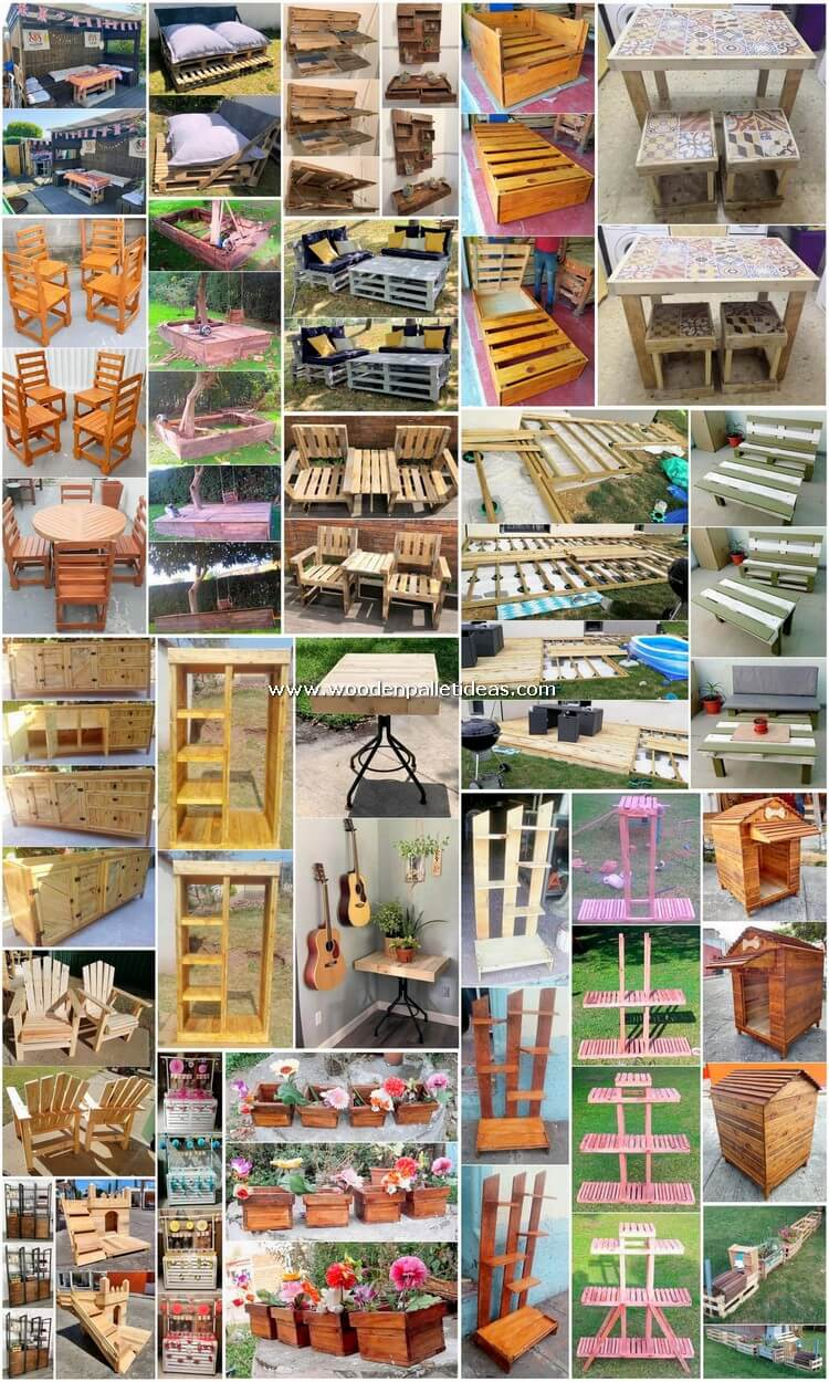 Idealistic DIY Home Creations Made with Old Pallets