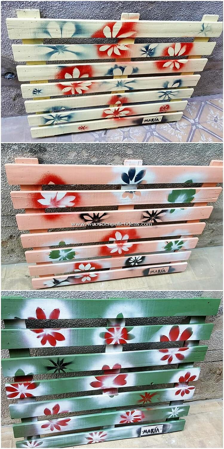 Pallet Decor Piece