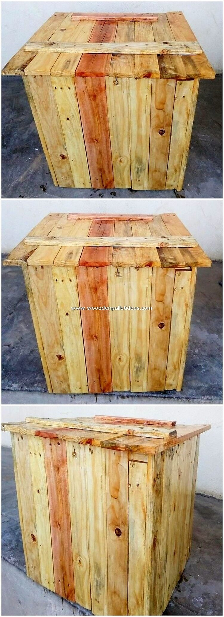 Pallet Storage Box