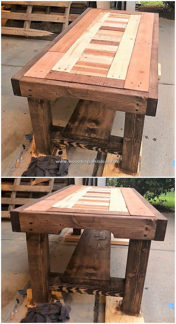 Wood-Pallet-Table