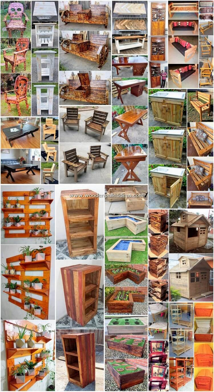 Classic DIY Wood Pallet Projects for Your House