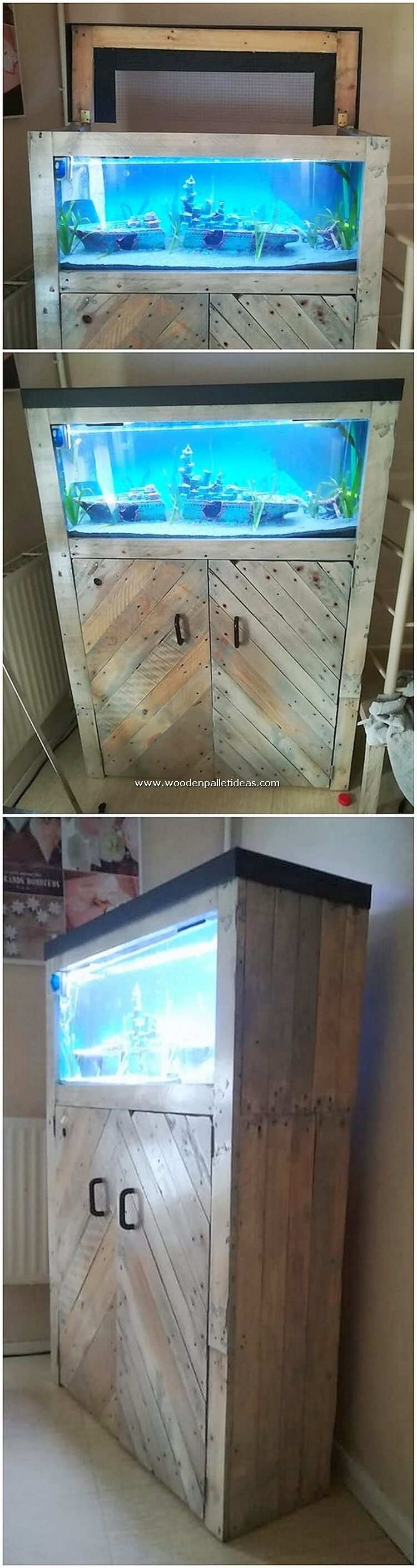 Pallet-Aquarium-Stand-with-Cabinet