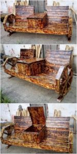 Pallet-Bench-with-Center-Table