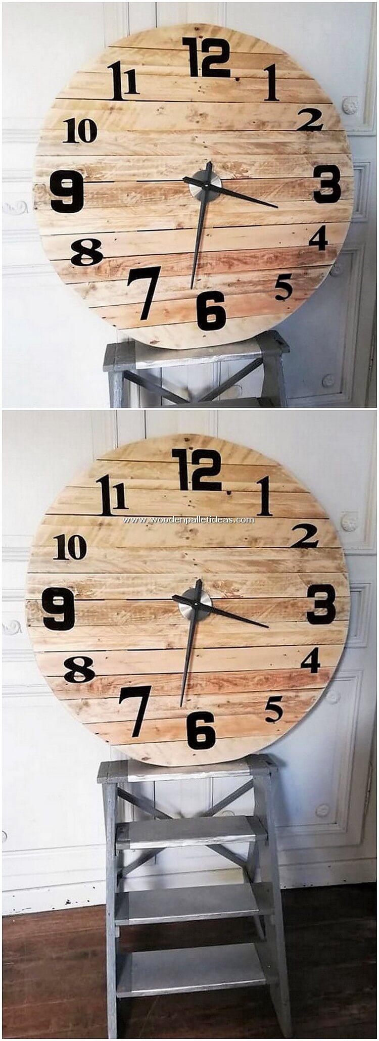 Pallet-Clock
